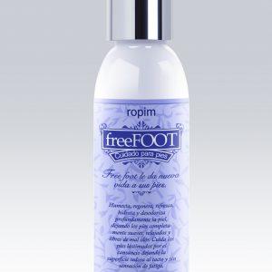 Ideal para masajes.FreeFOOT cuidado para pies no mancha.Aplíquelo en las mañanas para lograr una acción desodorante y en las noches, antes de acostarse, para relajar y acondicionar.