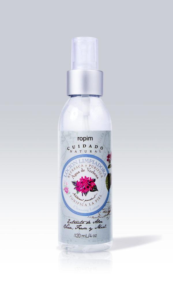El Tónico humectante agua de verbena tiene propiedades exfoliantes que limpian la piel de células muertas e impurezas. Mitiga la irritación de la afeitada.